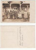 Rumänien,Haus eines Bauern Volkstypen Ethnic Type RPPC ca. 1.Weltkrieg um 1915