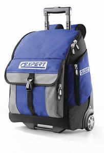 Expert by Facom TOOL STORAGE BACK PACK BAG - Wheels & Handle E010602B (Not Box)