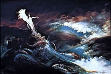 "Sea Witch- Frank Frazetta Vintage Print/Poster 18"" x 23"" Rolled (FZ-3-3)"