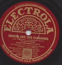 Amelita Galli-Curci Sopran singt Meyerbeer : Grosse Arie der Katharina