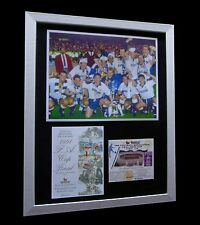 TOTTENHAM HOTSPUR / SPURS 1991 FA CUP FINAL LTD FRAMED+EXPRESS GLOBAL SHIPPING