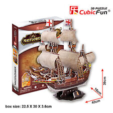 New Mayflower 3D Model Ship Jigsaw Puzzle 111 Piece T4009H DIY Kids Toy
