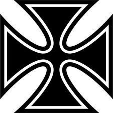 Malteserkreuz Maltese Cross 44 Aufkleber