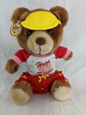 "Russ Bear Plush Hug Kisses Shirt Flower Shorts 8"" Stuffed Animal Toy"