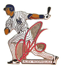 Alex Rodriguez New York Yankees MLB Signature Pin