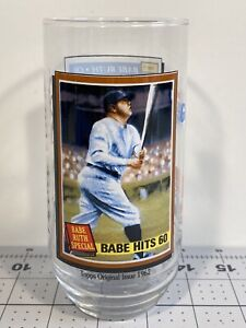 1993 McDonalds Topps Glass Babe Ruth Coca Cola MLB All Time Greatest Team