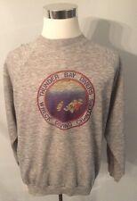 Vintage 80s Thunder Bay DIVERS diving scuba Crewneck Ringer Sweatshirt XXL