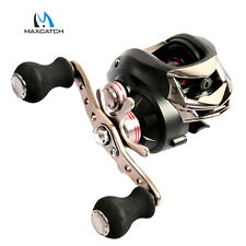 Maxcatch Baitcasting Left/Right Handed Casting Reel 6.3.1 10+1 ball bearings