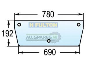 Massey Ferguson 300 Series Rear Bottom Window Glass - 3476137M1