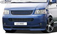 RDX Frontspoiler VW T5 -2009 Front Spoiler Lippe Vorne Ansatz