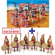 Playmobil 6x Roman Legionaires and 6x Greek Soldiers Hoplites
