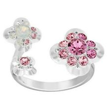Swarovski Crystal Cherie Ring (Size 52/ 6) Mib #5139720