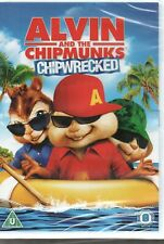 ALVIN AND THE CHIPMUNKS: CHIPWRECKED - Jason Lee - DVD *NEW & SEALED*