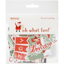 My Minds Eye Oh What Fun Mixed Bag Cardstock Die-Cuts - 078215