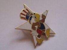 Pin's Jeux olympiques 1984 (Los Angeles) - Sam l'aigle (EGF Signé LA City 1981)