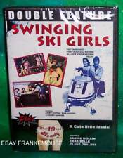NEW RARE OOP SWINGING SKI GIRLS & SHE'S 19 AND READY DOUBLE FEATURE 70'S DVD