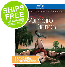 The Vampire Diaries Complete First Season (Blu-ray, 2010) NEW, Season 1
