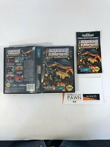 Steel Empire (Sega Genesis, 1992) CASE AND MANUAL ONLY! NO CARTRIDGE!