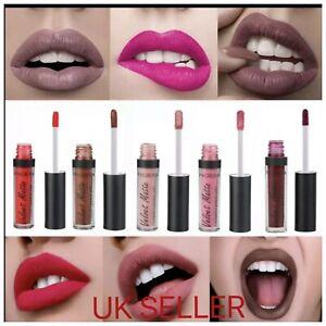 PHOERA Lipgloss Lipstick Liquid Velvet Matte Long Lasting Waterproof