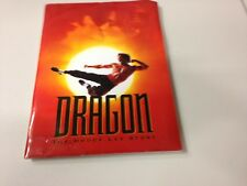 MOVIE PRESS KIT DRAGON THE BRUCE LEE STORY WITH PUBLICITY PHOTOS, SLIDES, INFO
