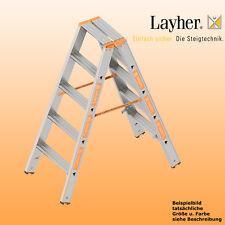 Layher Alu Stufenstehleiter, 2x5 Stuf., L=1,25m, Bockleiter, Topic Typ 1043.005