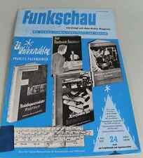 Funkschau 1959 / Heft 24  - Fernsehtechnik, Schallplatte und Tonband      /S168
