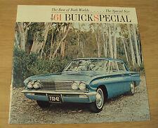 "VTG 1961 ADVERTISING Brochure~""BUICK SPECIAL""~Deluxe/Fireball V8~Automobile~"
