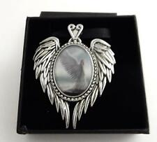 Anne Stokes Enchanted Cameos necklace Spirit Guide angel art work Licensed gift