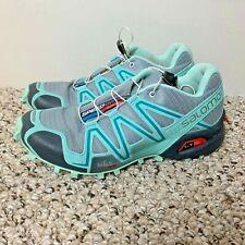 SALOMON Women's Sneakers Size 9 Speedcross 3 Onix Blue Outdoor Running