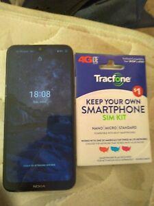 Nokia 2.3 TA-1214 - 32GB - Charcoal With TracFone SIM Kit
