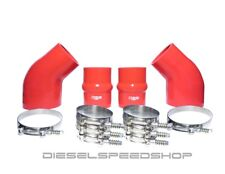 FITS 1994-2002 Dodge Cummins® INTERCOOLER BOOT KIT BRIGHT RED W/ CLAMPS!