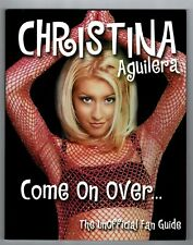 Christina Aguilera Come On Over The Unofficial Fan Guide Book 2000 Paperback 96p