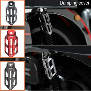 Aluminum Motorcycle Shock Absorber Protection Cover Guards Case ATV Multicolor
