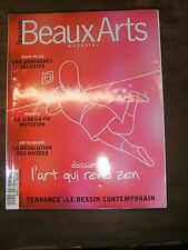 Beaux Arts Magazine N°240 MAISON ROUGE DEVILE MONTAGNES CÉLESTES ART MÉDITATIF