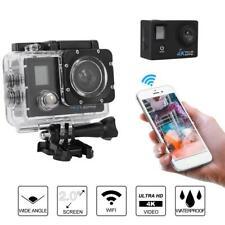 K1 4K 30FPS HD 2in Double Screen 30m Waterproof WiFi Camera w/Remote Control SP
