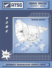 ATSG Tech Manual A500SE 42RE 44RE Chrysler Dodge Jeep 1994-On Rebuild Book New