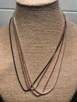 """Origami Owl 24-26"""" Cube Chain Necklace - NEW & Authentic"""