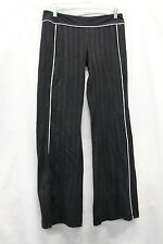 Lululemon Womens Pants Pinstriped Size 8 Excellent Used Condition Yoga Groove