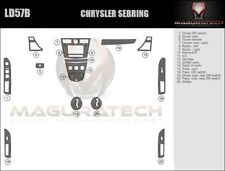 Fits Chrysler Sebring 4Dr 2007-2010 Basic Wood Dash Trim Kit
