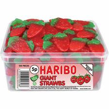HARIBO Giant Strawbs Sweets - 1056g