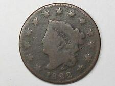 1822 US Coronet Head Large Cent.  #13