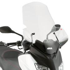 446DT GIVI Parabrezza Trasparente per Yamaha Xmax 250 2010 2011 2012 2013