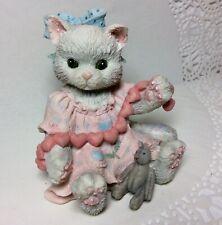 Calico Kittens A Good Friend Warms the Heart Enesco 1992 Figurine 627984 Mint