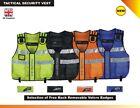 New Hi Viz Tactical Vest , Dog Handler, Press ,CCTV , Security Vest