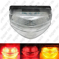 Clear LED Integrated Turn Signal Rear Tail Light For Honda CBR600F4I 2001-2008