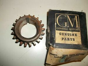 - NOS 1937-1954 Pontiac 8 Cyl. Sprocket - Crankshaft Timing 0.728 499604