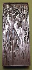 """LADY THRESHING IN FIELD"" (BOOKPLATE) PRINTING BLOCK."