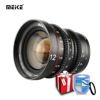Meike12mmT2.2 Mini Cine lens for M43 MFT Olympus Panasonic Lumix BMPCC4K Zcam E2