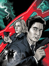 """X-Files Search for the Truth Limited Screen Print Art Poster #40 18"""" x 24"""""""