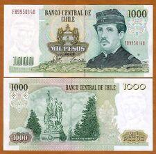 Chile, 1000 (1,000) Pesos, 2007 P-154 (154g), UNC